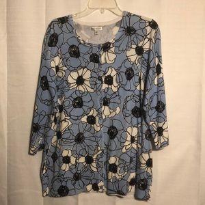 Pretty Croft & Barrow sweater size 1X